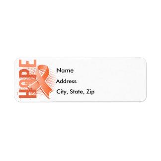 Hope 2 Uterine Cancer Label