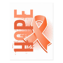Hope 2 Uterine Cancer Postcard