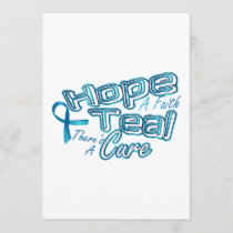 Hope A Faith Teal Ovarian Cancer Awareness