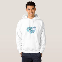 Hope A Faith Teal Ovarian Cancer Awareness Hoodie