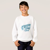 Hope A Faith Teal Ovarian Cancer Awareness Sweatshirt