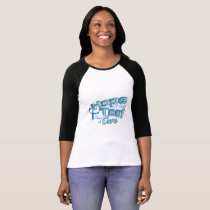 Hope A Faith Teal Ovarian Cancer Awareness T-Shirt