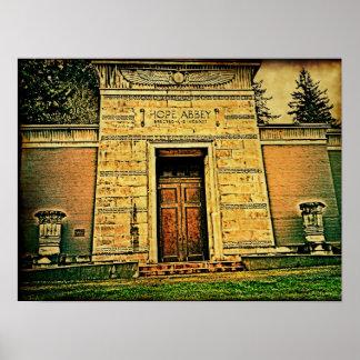 Hope Abbey (Masonic Cemetary) Poster