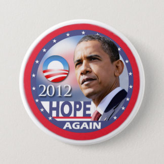 Hope Again / Obama 2012 Button