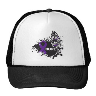 Hope Alzheimer's Disease Butterfly Trucker Hat