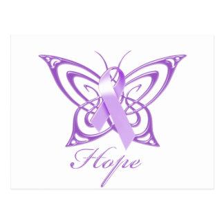 Hope Alzheimer's Awareness Butterfly Postcard