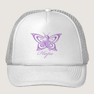 Hope Alzheimer's Awareness Butterfly Trucker Hat