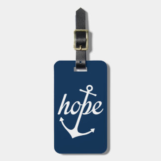 Hope Anchors The Soul (Hebrews 6:19) Luggage Tag