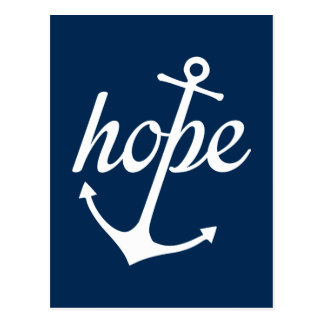 Hope Anchors The Soul (Hebrews 6:19) Postcard