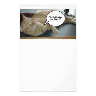 Hope and Change/Cat Humor Stationery