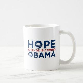 HOPE and CHANGE Coffee Mug