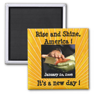 Hope and Change for America 2 Inch Square Magnet