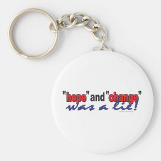 HOPE-AND-CHANGE-was-a-lie.2 Keychain