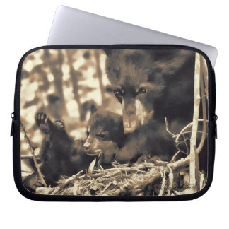 Hope and Faith Sister Love Laptop Sleeve