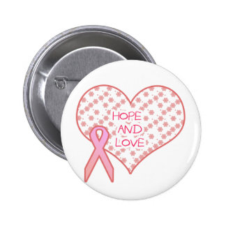 Hope and Love 2 Inch Round Button