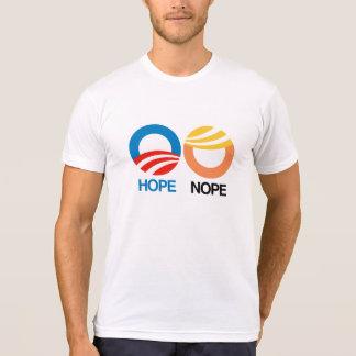 Hope and Nope -- Anti-Trump Design - T-Shirt