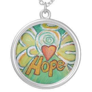 Hope Angel Necklace