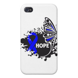 Hope Ankylosing Spondylitis Butterfly Cover For iPhone 4