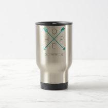 Hope Arrows - Mental Health - Travel Coffee Mug