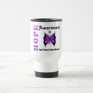 Hope Awareness Butterfly Domestic Violence Coffee Mug