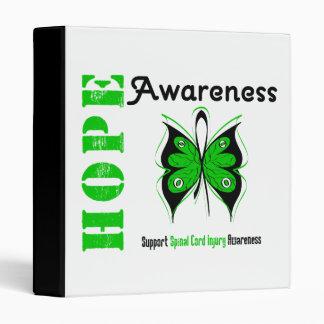 Hope Awareness Spinal Cord Injury 3 Ring Binder
