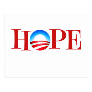 HOPE Barrack Obama Postcard