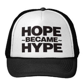 Hope Became Hype - Black Trucker Hat
