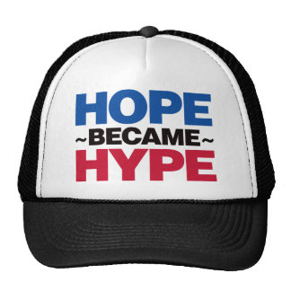 Hope Became Hype - Red and Blue Trucker Hat