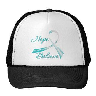 Hope Believe Cervical Cancer Hat