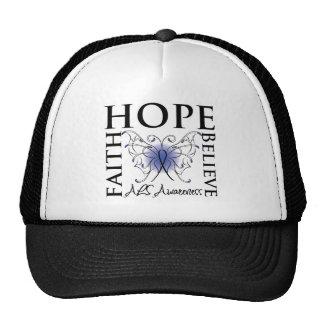 Hope Believe Faith - ALS Lou Gehrigs Disease Trucker Hat