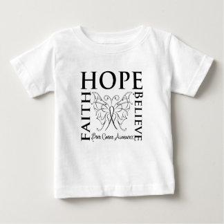 Hope Believe Faith - Bone Cancer Shirt
