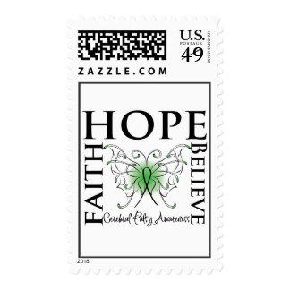 Hope Believe Faith - Cerebral Palsy Postage
