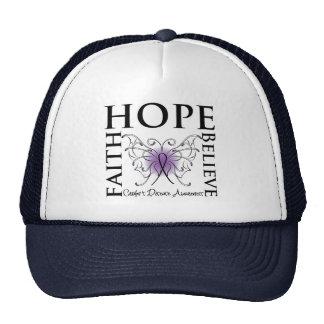 Hope Believe Faith - Crohn's Disease Trucker Hat