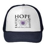 Hope Believe Faith - Crohn's Disease Trucker Hats