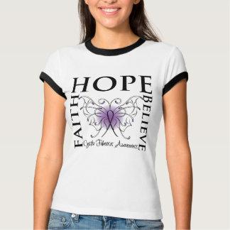 Hope Believe Faith - Cystic Fibrosis T-shirts