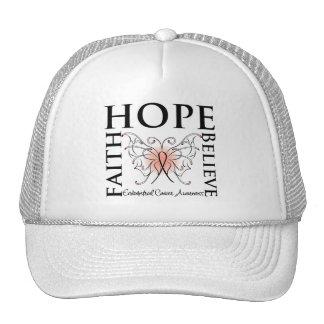 Hope Believe Faith - Endometrial Cancer Hat