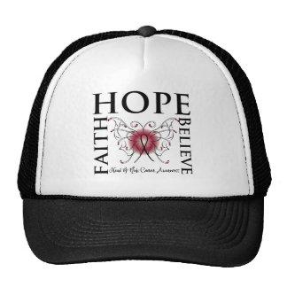 Hope Believe Faith - Head and Neck Cancer Hat