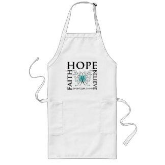 Hope Believe Faith - Interstitial Cystitis Long Apron