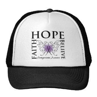 Hope Believe Faith - Leiomyosarcoma Hats