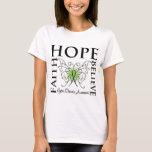 Hope Believe Faith - Lyme Disease T-Shirt