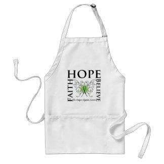 Hope Believe Faith - Non-Hodgkin's Lymphoma Adult Apron