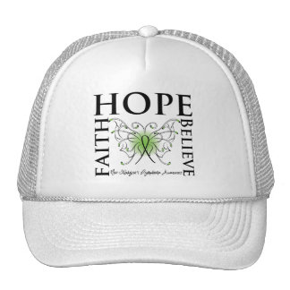 Hope Believe Faith - Non-Hodgkin's Lymphoma Trucker Hat