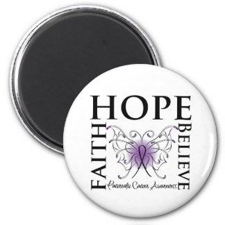 Hope Believe Faith - Pancreatic Cancer Magnets