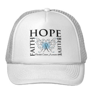 Hope Believe Faith - Prostate Cancer Mesh Hats