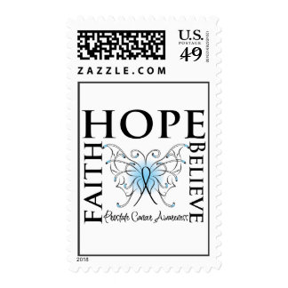 Hope Believe Faith - Prostate Cancer Stamps