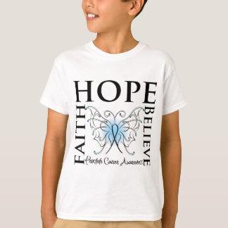 Hope Believe Faith - Prostate Cancer T-Shirt