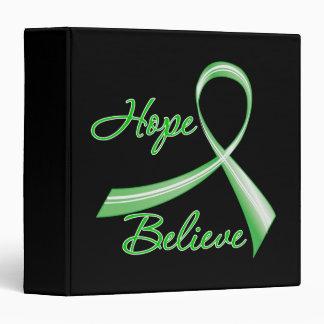 Hope Believe Traumatic Brain Injury 3 Ring Binder