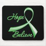 Hope Believe Traumatic Brain Injury Mouse Pad