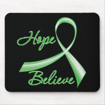 Hope Believe Traumatic Brain Injury Mouse Pad