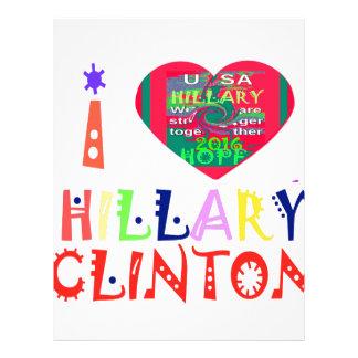 Hope Best Lovely Beautiful Amazing Colorful Hillar Letterhead